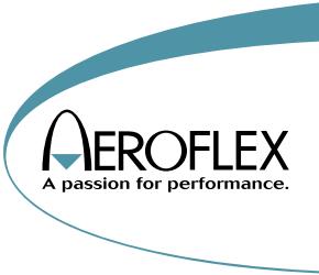 Aeroflex / エアロフレックス